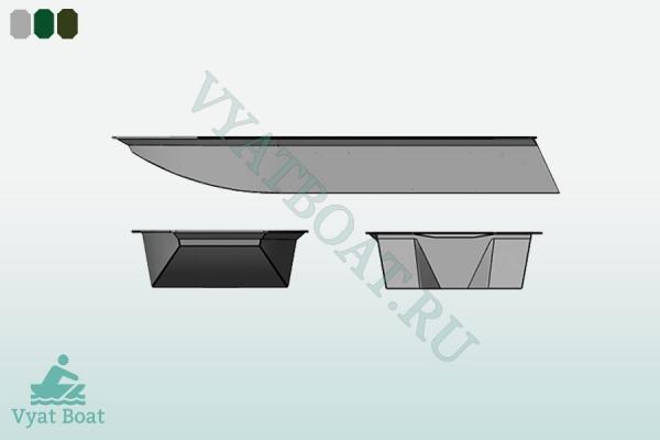 Лодка пнд ДЖОНБОТ 380