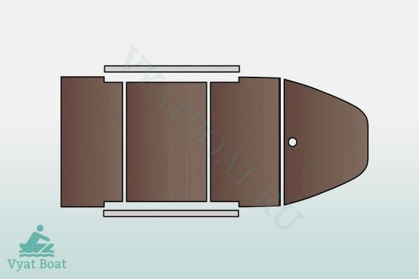 Лодка пвх HUNTER KEEL 3200